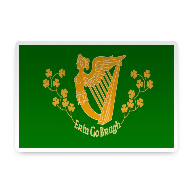 Erin-Go-Bragh Sticker