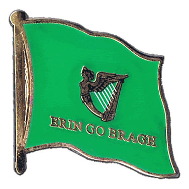 Erin Go Bragh Flag Lapel Pin