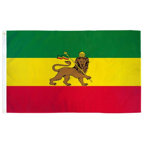Polyester Ethiopia Lion Flag