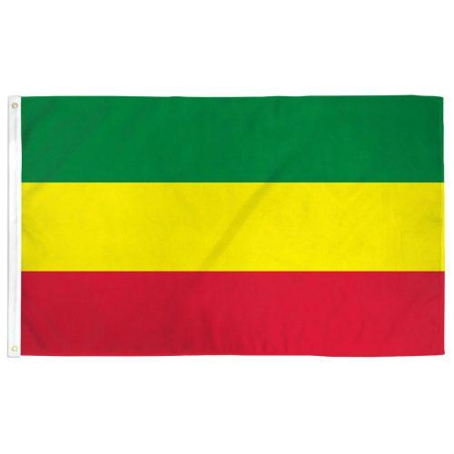 Polyester Ethiopia Flag