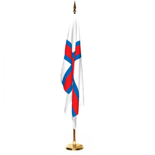 Indoor Faroe Islands Ceremonial Flag Set