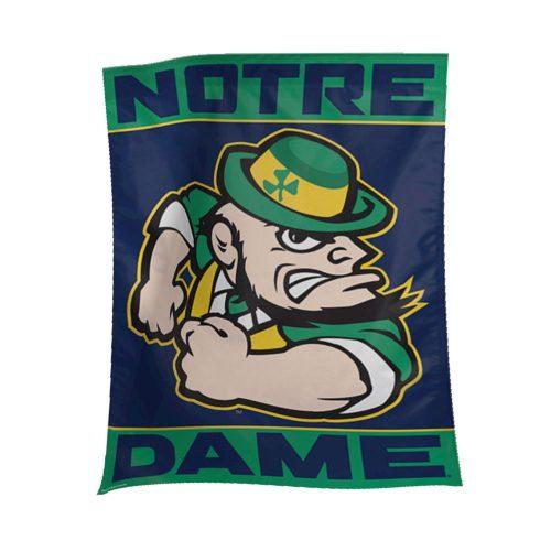 Notre Dame Leprechaun Banner