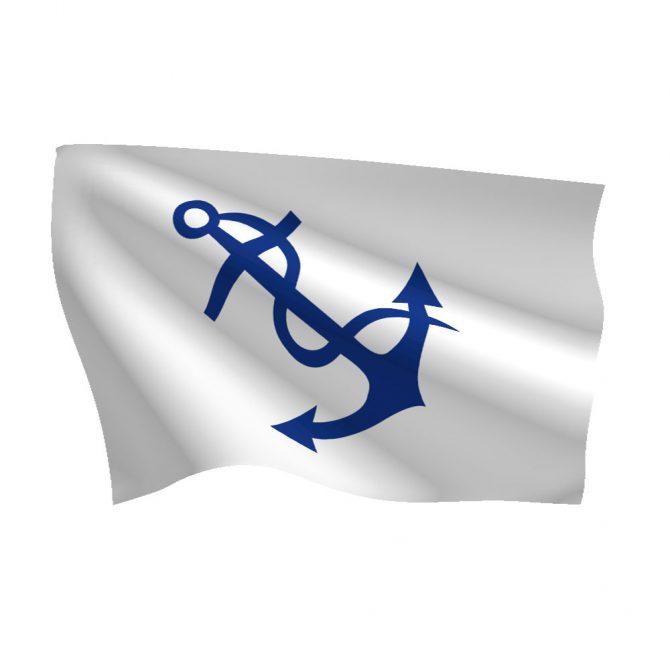 12in x 18in Fleet Captain Flag