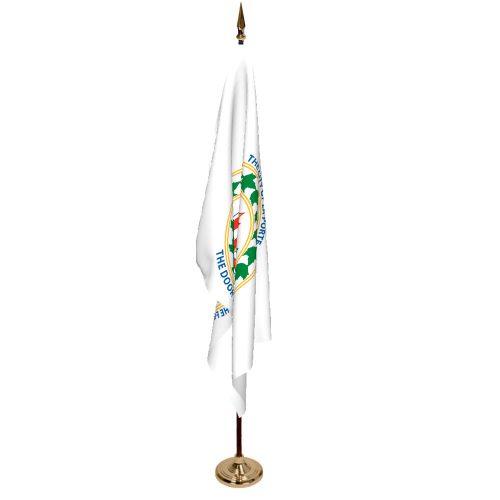 Indoor City of Laporte Ceremonial Flag Set