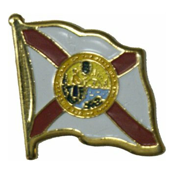 Florida Flag Lapel Pin