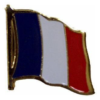 France Flag Lapel Pin