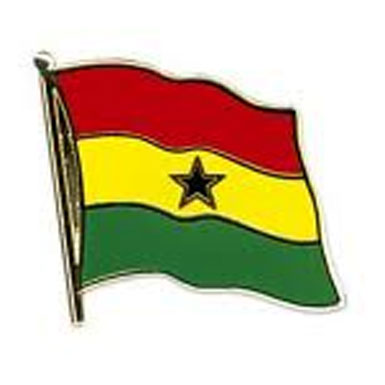 Ghana Flag Lapel Pin