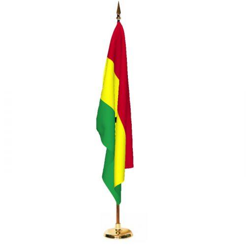 Indoor Ghana Ceremonial Flag Set