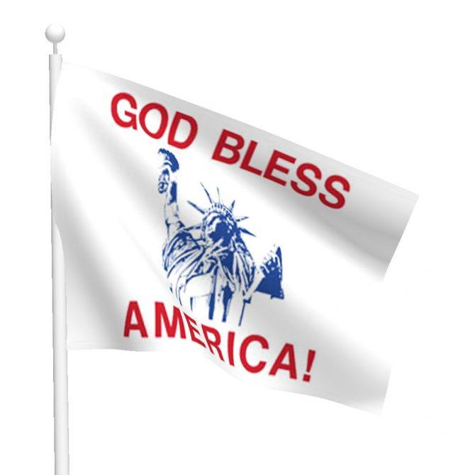 God Bless America Flag