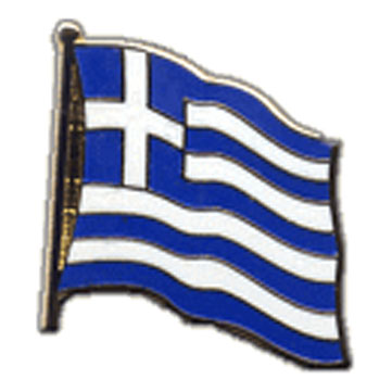 Greece Flag Lapel Pin