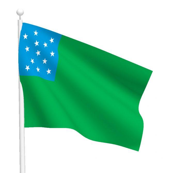 3ft x 5ft Green Mountain Boys Flag
