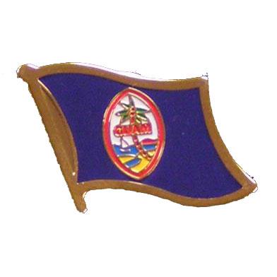 Guam Flag Lapel Pin