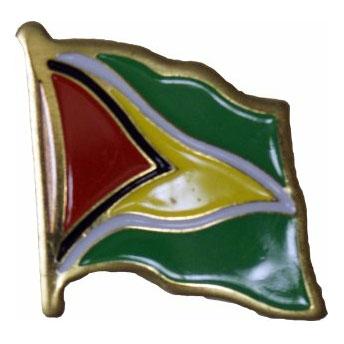 Guyana Flag Lapel Pin