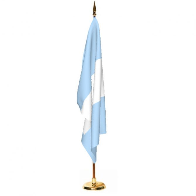 Indoor Guatemala Ceremonial Flag Set