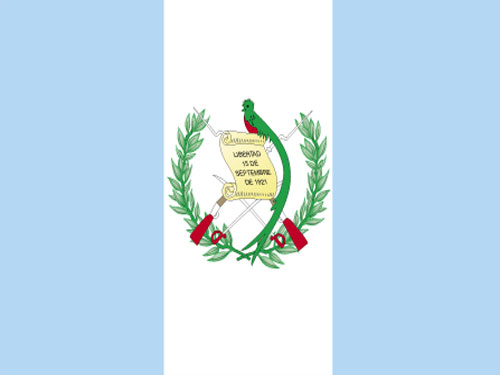Guatemala with Seal Flag