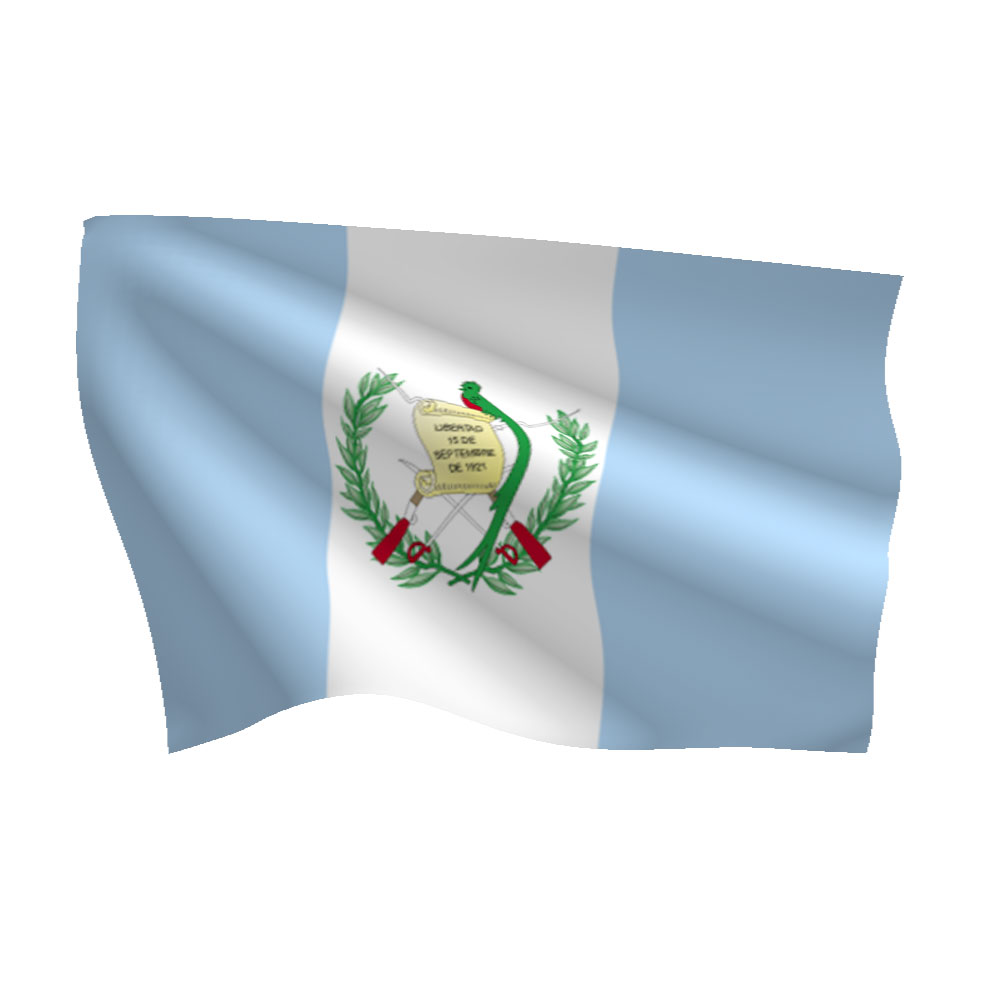 Polyester Guatemala With Seal Flag Light Duty Flags International