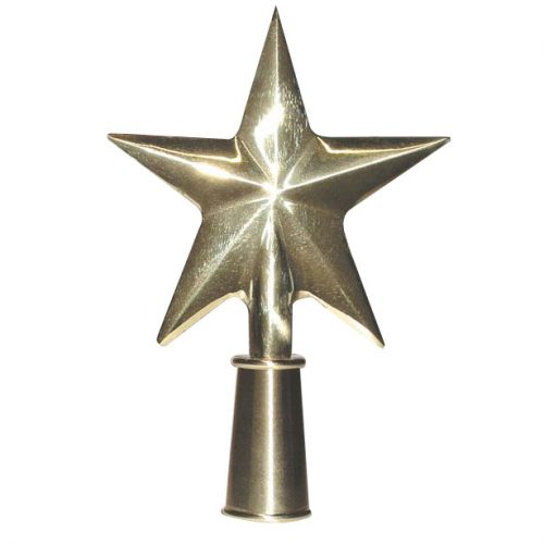 Brass Guiding Star Finial