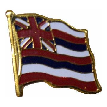 Hawaii Flag Lapel Pin