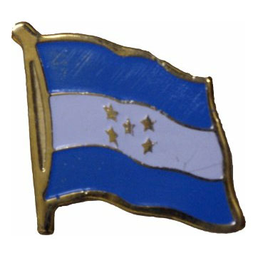 Honduras Flag Lapel Pin