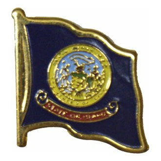 Idaho Flag Lapel Pin