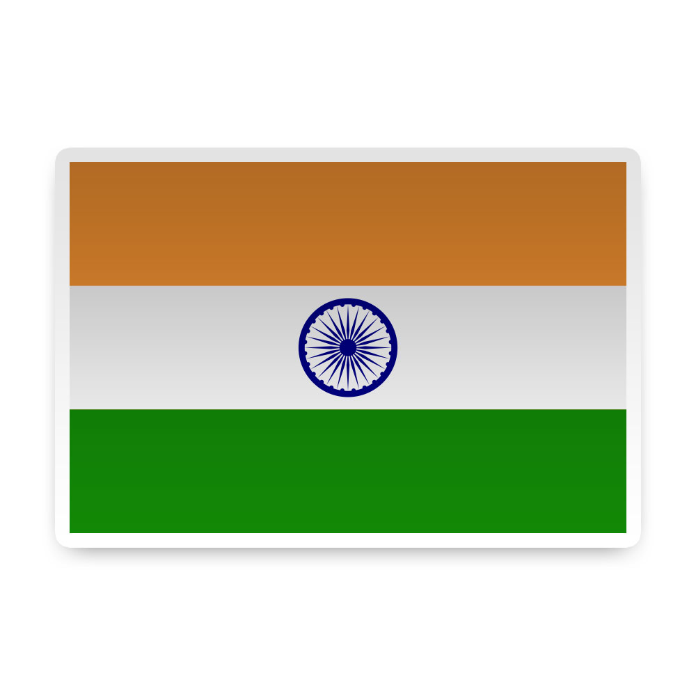 India sticker