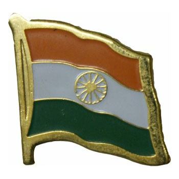 India Flag Lapel Pin