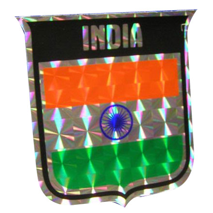 Vinyl Metallic India Decal