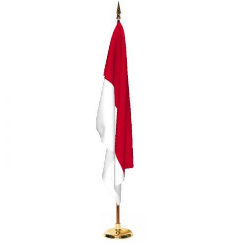Indoor Indonesia Ceremonial Flag Set