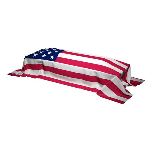 Interment American Flags