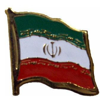 Iran Flag Lapel Pin