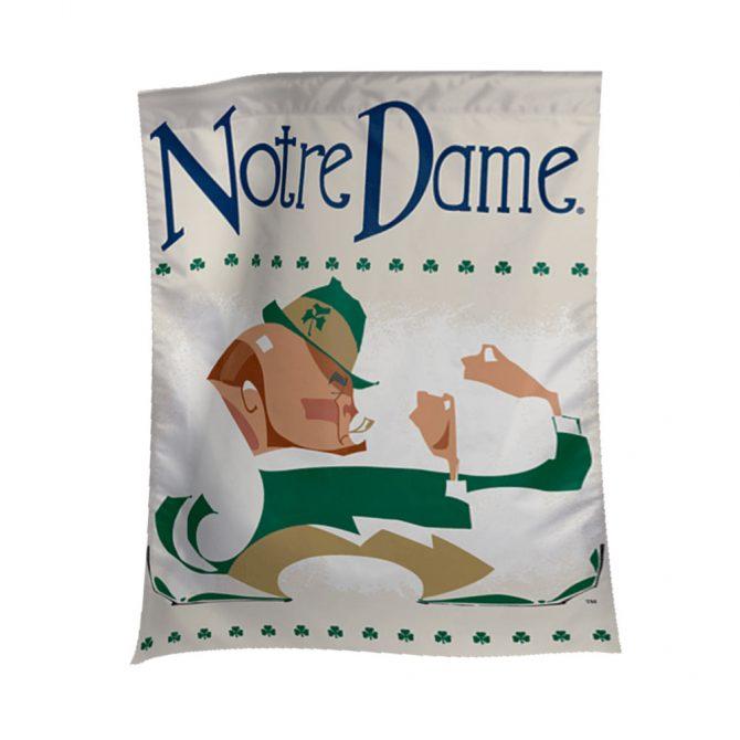 Notre Dame Leprechaun Vault Banner