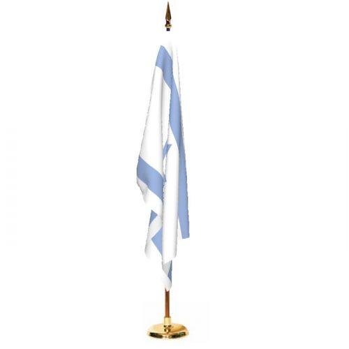 Indoor Israel Ceremonial Flag Set