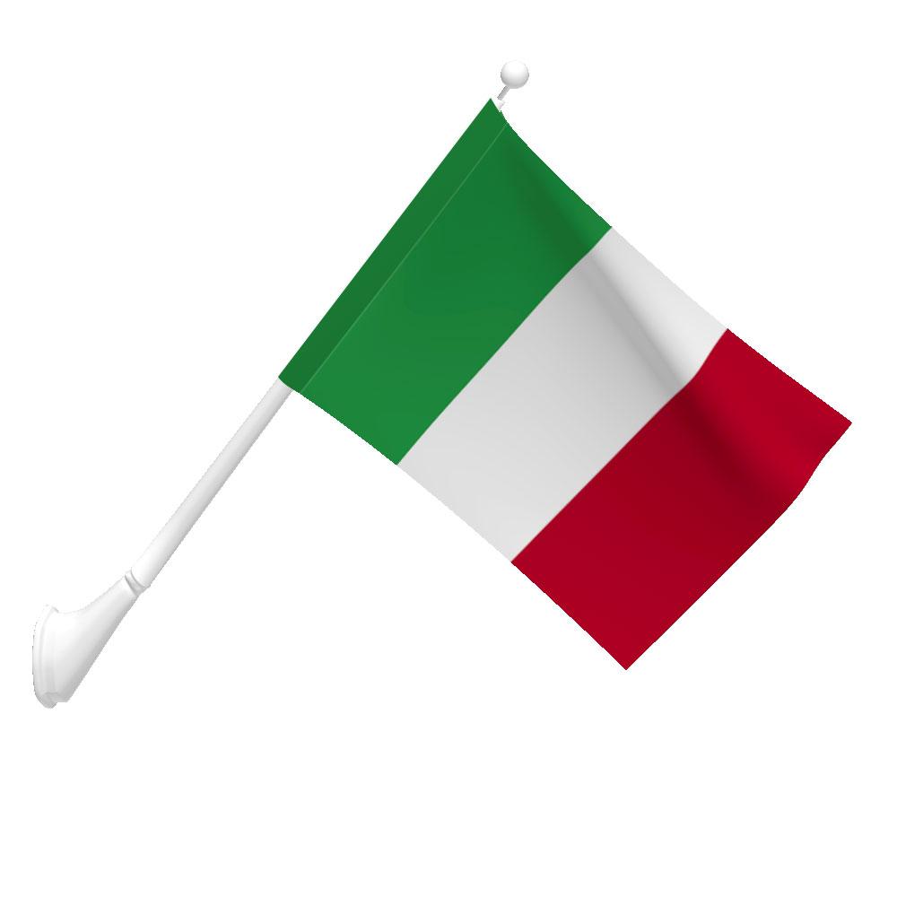 Polyester Italy Flag Light Duty Flags International