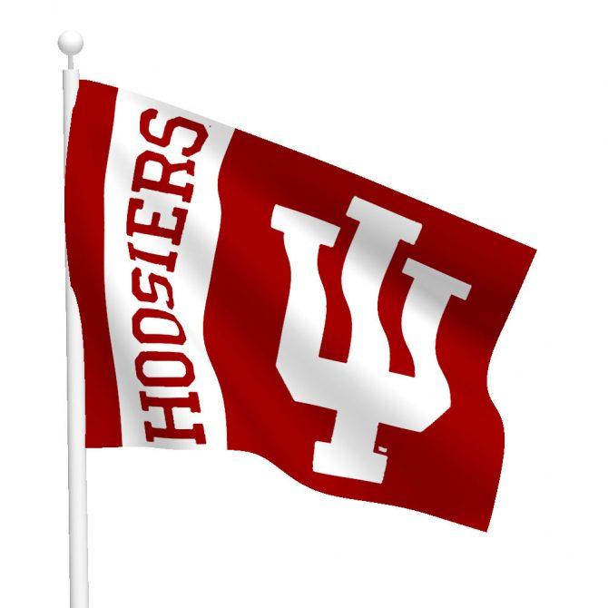 Indiana University Hoosiers Flag