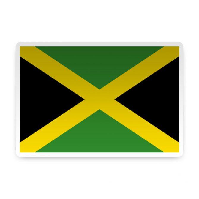 Jamaica Sticker