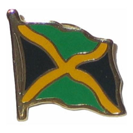 Jamaica Flag Lapel Pin