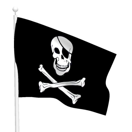 Polyester Jolly Roger Flag