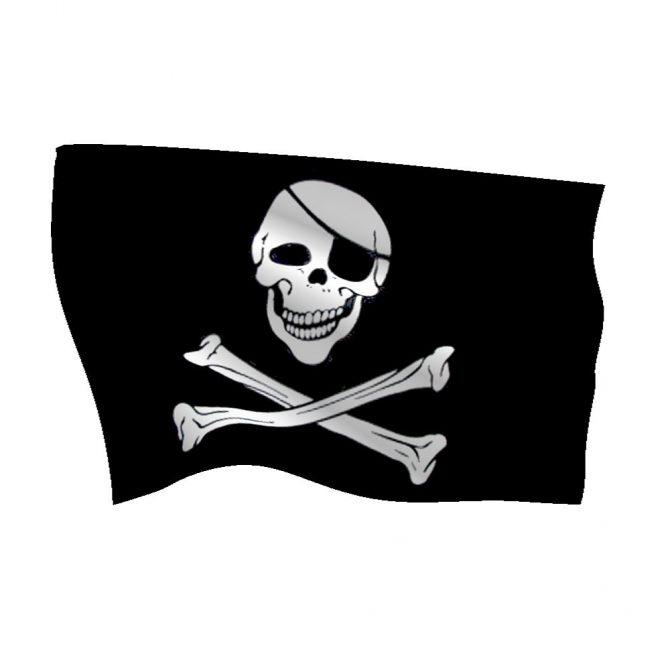 Polyester Jolly Roger Flag
