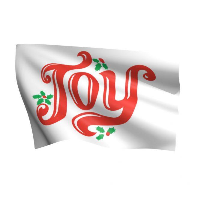3ft x 5ft Joy Flag