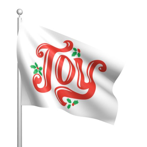 Christmas Joy Nylon Flag