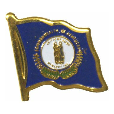 Kentucky Flag Lapel Pin