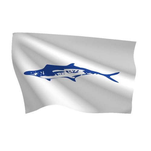 12in x 18in King Mackerel Flag