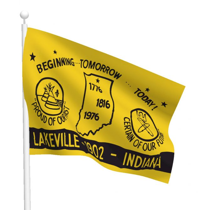 City of Lakeville Flag
