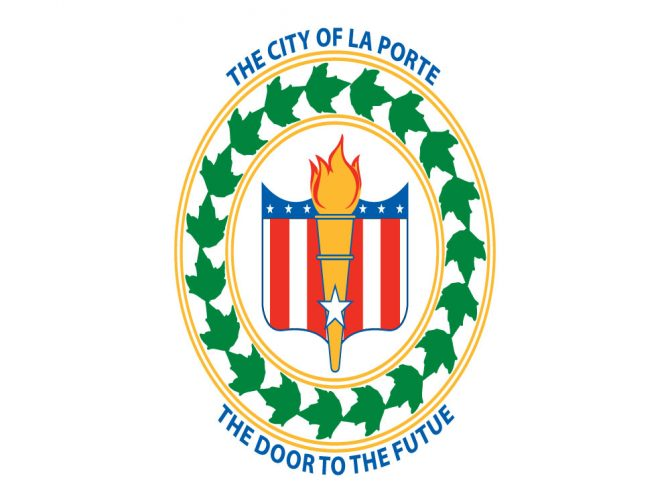 City of Laporte Flag