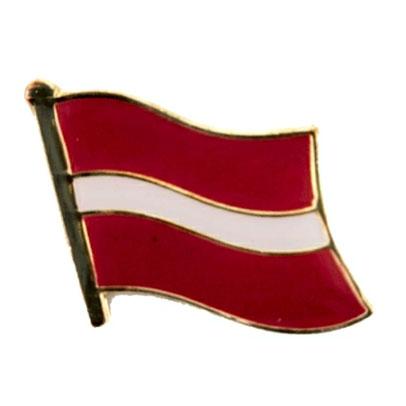 Latvia Flag Lapel Pin