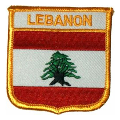 Flag of Lebanon Patch