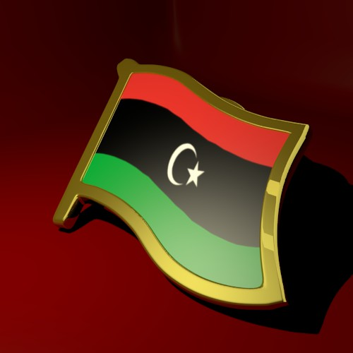 Libya Flag Lapel Pin