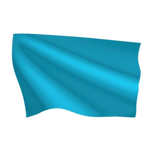 Light Blue Flag