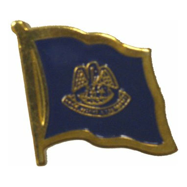 Louisiana Flag Lapel Pin