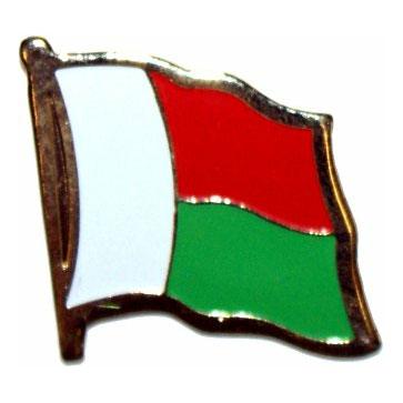 Madagascar Flag Lapel Pin